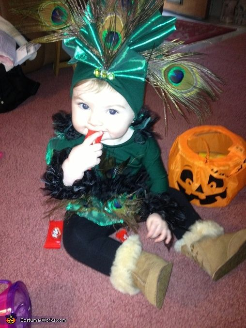 Baby Peacock Costume - Halloween Costume Contest via @costumeworks