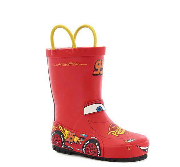 Kids' Lightning McQueen Rain Boots - Red