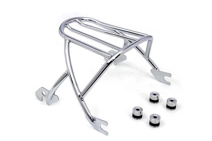 Luggage Rack Chrome Detachable Type For Harley Davidson Sportster XL 2004-UP #VTwinManufacturing