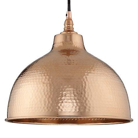 Buy John Lewis Bolu Pendant Shade, Copper Online at johnlewis.com