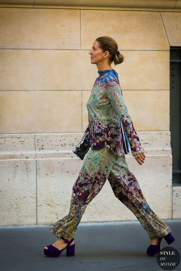 Paris Men's Fashion Week Spring 2018 Street Style: Karla Otto