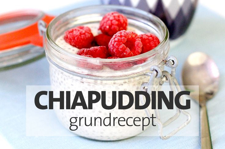 Chiapudding grundrecept