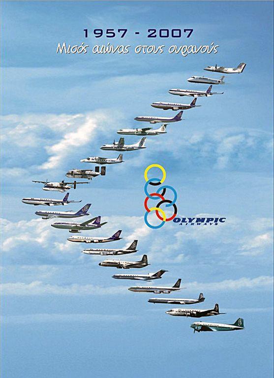 Olympic Airways 1957-2007
