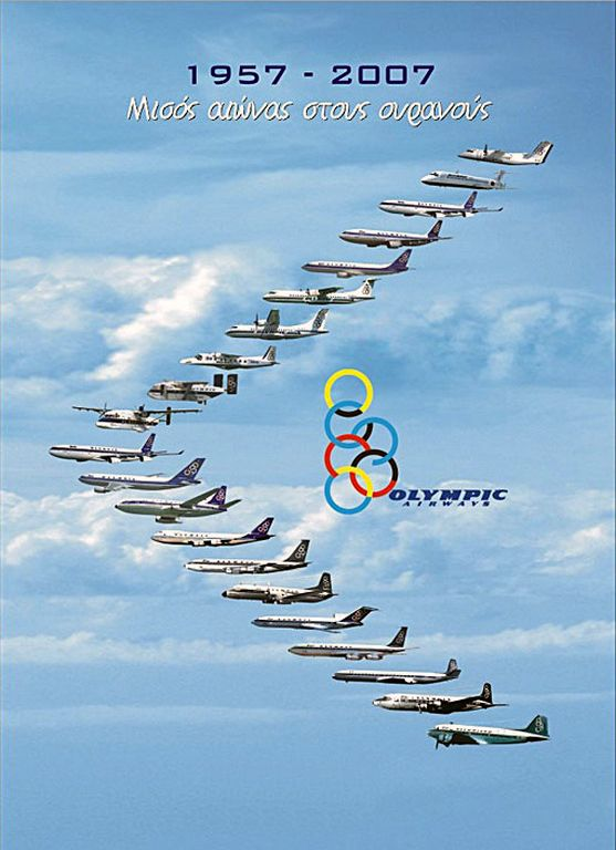 Olympic Airways 1957-2007
