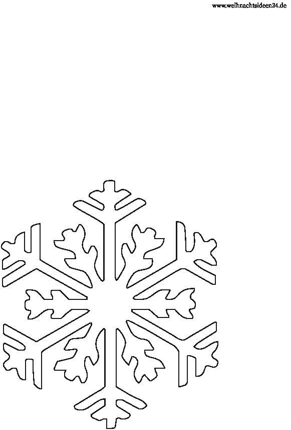 schneeflocke  weihnachten vorlagen fensterbilder