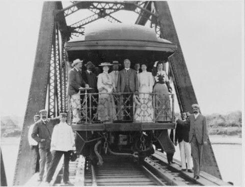 Viaje del general Díaz de México a Veracruz. Mayo de 1911