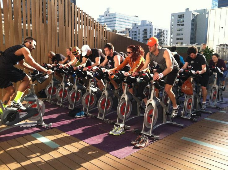 Why Not Try A Spinning Class Fitness Trends Cycling Class Spin Class