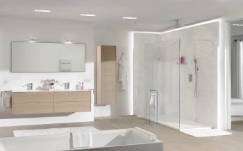 X2O | Mitigeur de douche à encastrer/ Inbouwdouchekraan met regendouche uit plafond #shower #luxe - More? Visit www.x2o.be