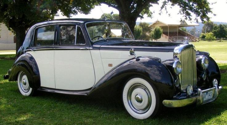 The 1949 Bentley School Ball vintage car
