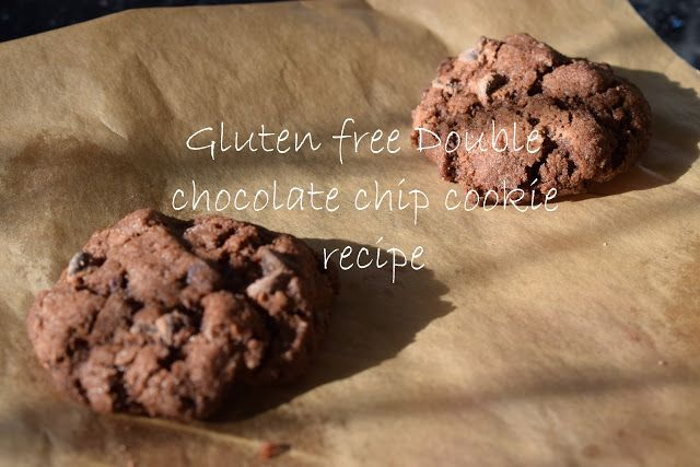 Gluten free double chocolate chip cookie recipe