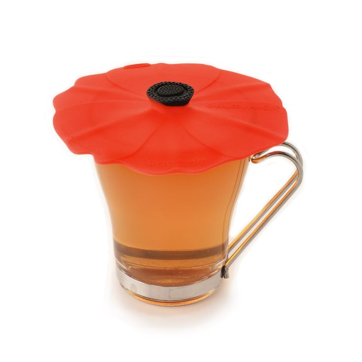 CHARLES VIANCIN® silicone drink covers  are the most helpful of tools when it comes to keeping your coffees, teas, and cocoas hot or your smoothies, cocktails, or other cold drinks ice cold.  Inspired by the bold red petals of poppy flower, the  CHARLES VIANCIN®  POPPY® drink cover adds a dash of color to your cup. Perfect for picnics, patio parties, the little outdoor breaks from the office, and much more.  We offer our drink covers in pairs so that you can keep one at home and one at…