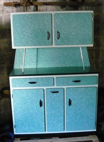 retro french kitchen cabinet formica 1960s vintage retro