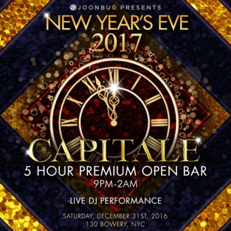 New Years Eve 2017 at Capitale in New York City - http://nyenyc.party/2016/11/17/new-years-eve-2017-at-capitale-in-new-york-city/