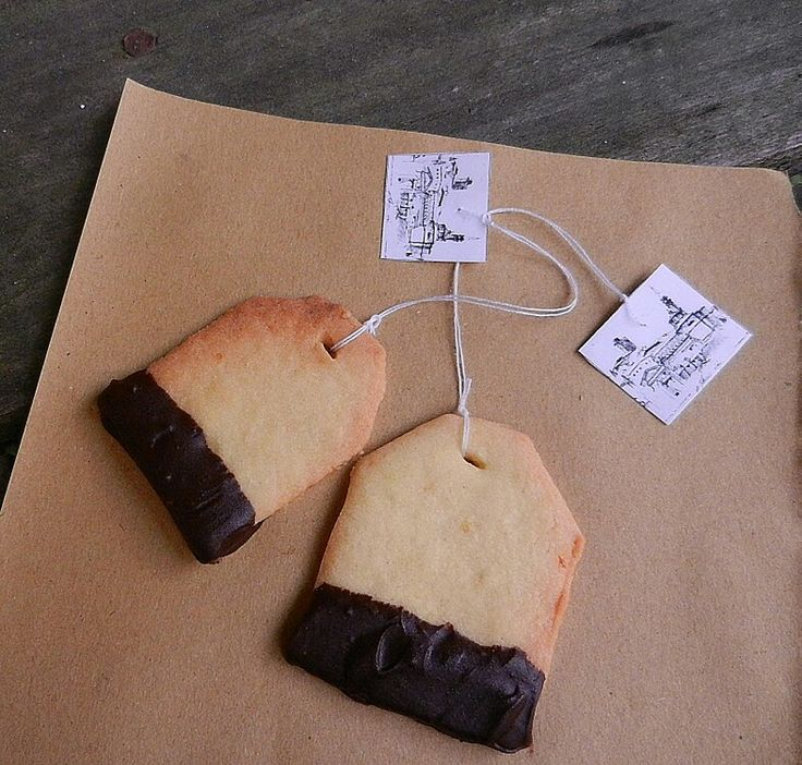 Sweet ideas for TeaTime.. A picture of Castiglion Fiorentino in The tag..