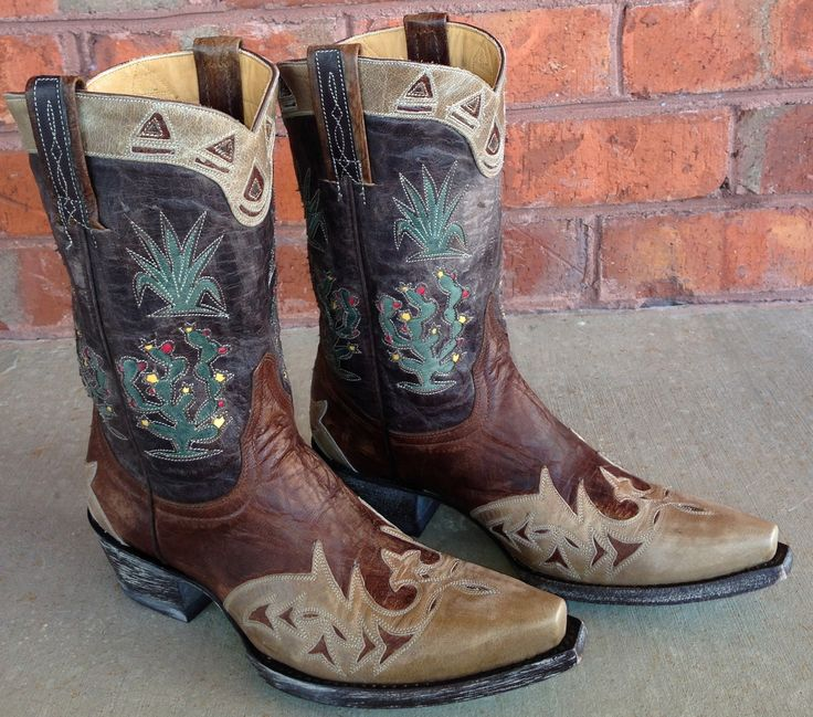 Rivertrail Mercantile - Old Gringo Cactus Boots L412-38, $580.00 (http://www.rivertrailmercantile.com/old-gringo-cactus-boots-l412-38/)