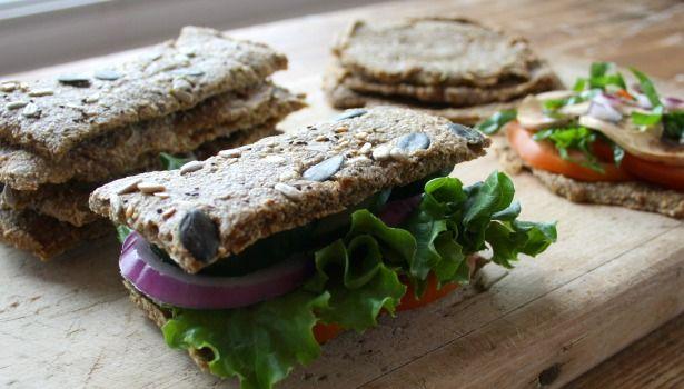 Pain multigrain à l'oignon, cru et sans gluten - Santé Nutrition