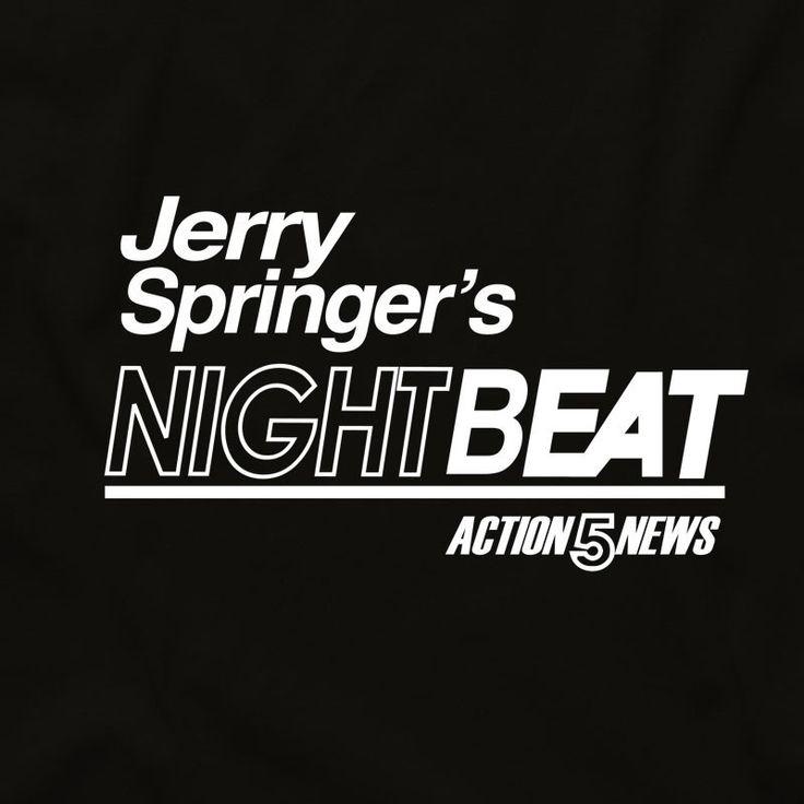 Jerry Springer's Night Beat Unisex Tee