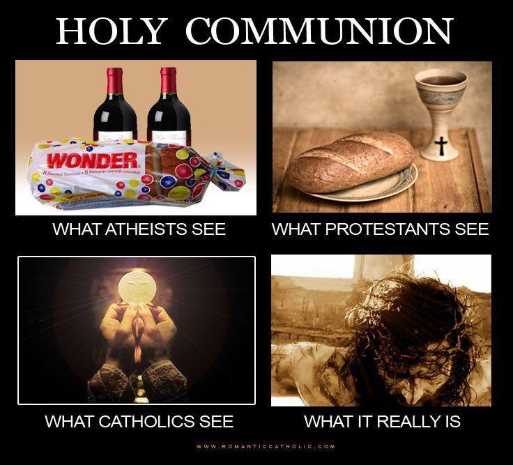 Holy Communion | Catholic Memes