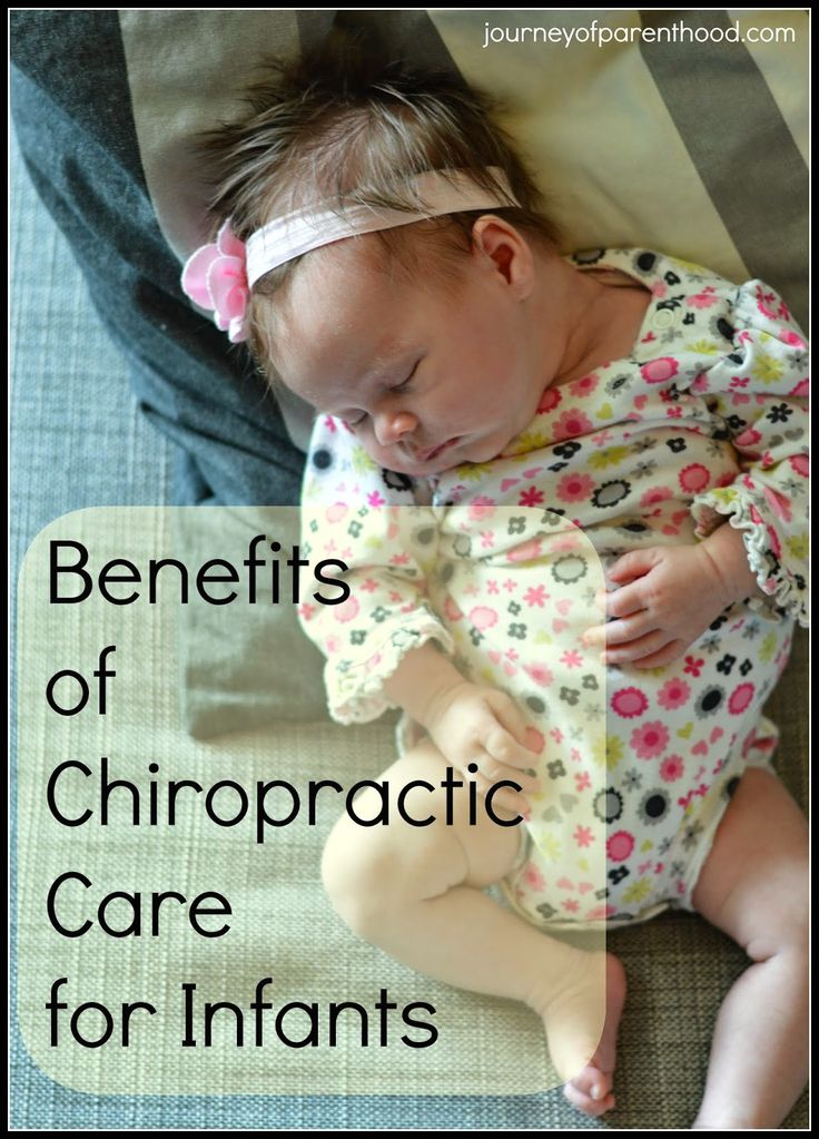 The Journey of Parenthood...: Benefits of Chiropractic Care for Infants