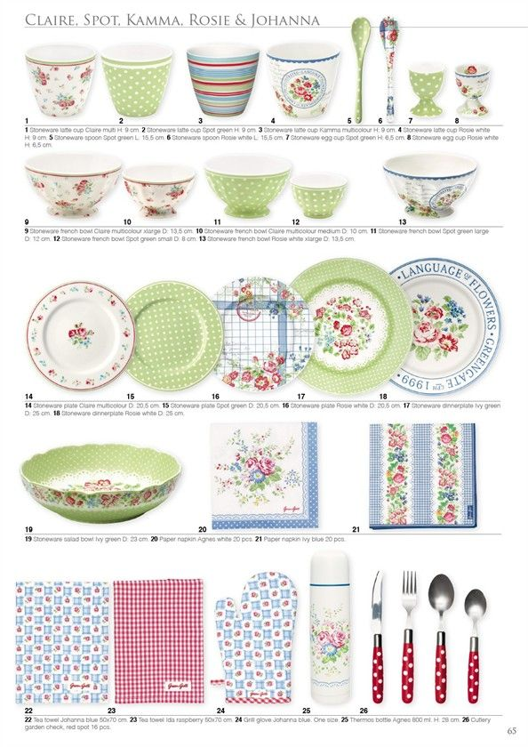 100 ideas to try about greengate a w 2013 grey for Cath kidston kitchen ideas