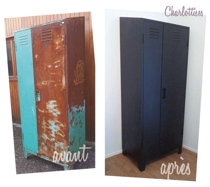 25 best ideas about vestiaire industriel on pinterest casier vestiaire ca - Restauration meuble industriel ...