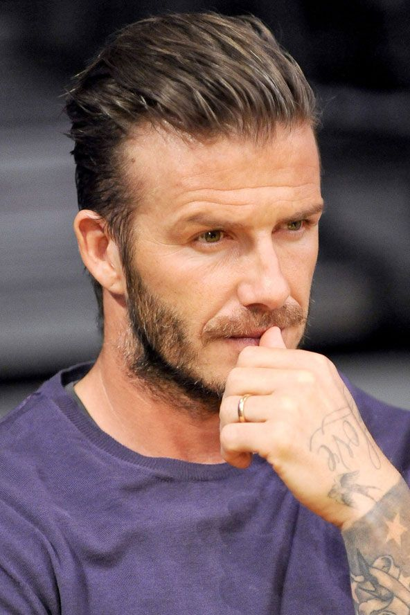 Nice David Beckham Haircut 2012