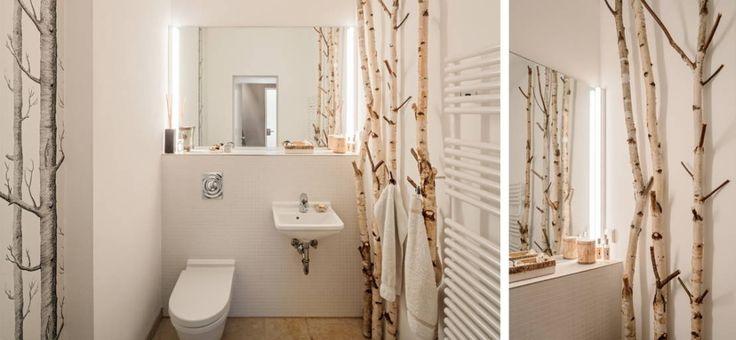7 fantastische ideen fr kleine bder ohne fenster - Fantastisch Badezimmergestaltung Mit Dusche