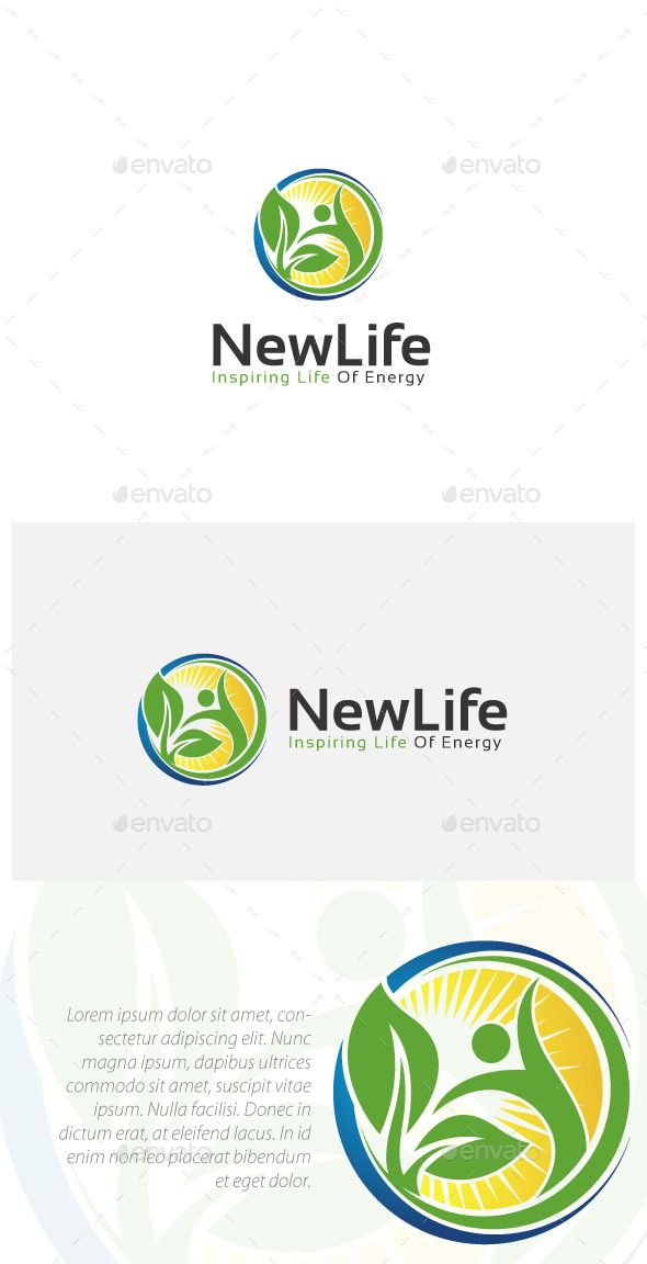 Natural Healthy Life - Logo Design Template Vector #logotype Download it here: http://graphicriver.net/item/natural-healthy-life-logo-/10962811?s_rank=1062?ref=nexion