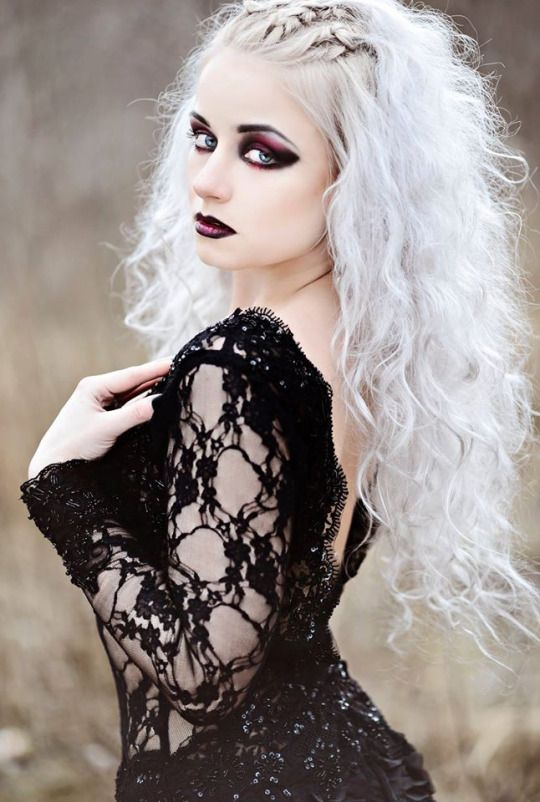 Witch Hairstyles 516 Best Goth Images On Pinterest  Goth Beauty Gothic Art And