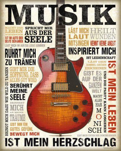 Musik Leidenschaft Poster bei AllPosters.de