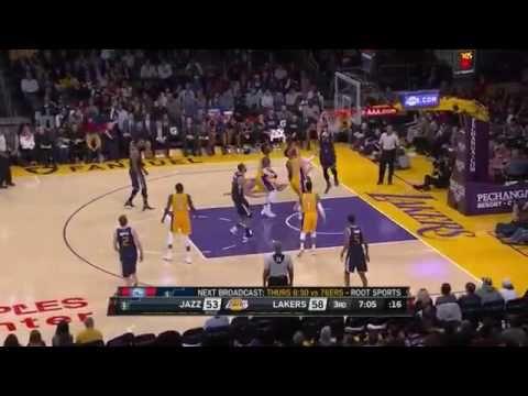 Jazz 102 Lakers 100 Game recap NBA Game TODAY December 27 2016