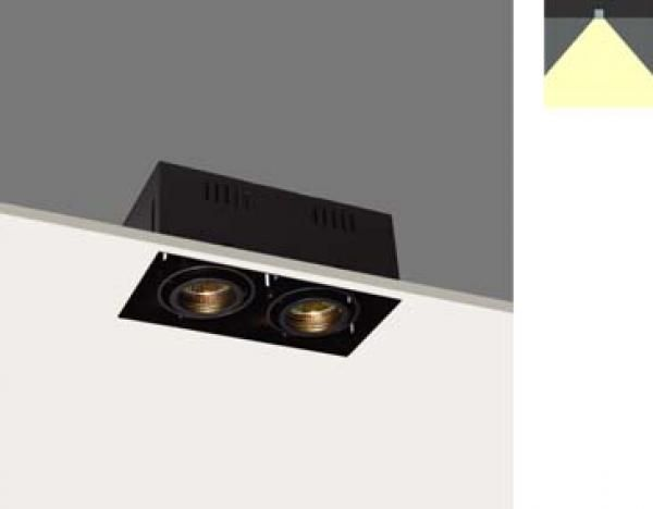 VDGE R1351B   INBOUW PLAFOND   BINNENVERLICHTING - BEAM - VDGE Alu Lighting