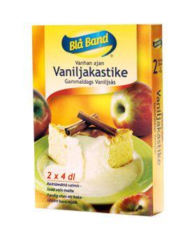 Vanhanajan vaniljakastike