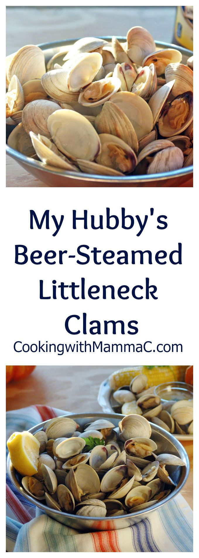 My Hubby's Beer-Steamed Littleneck Clams are so good dipped in melted butter…#sponsored #MomentstoSavor @tradewindstea