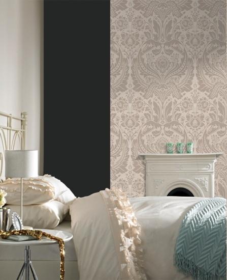 Desire: Taupe Wallpaper Elixir Graham & Brown