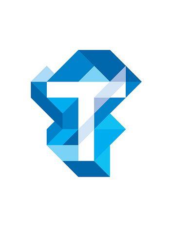T   #corporate #branding #creative #logo #personalized #identity #graphic #design #corporatedesign