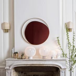 Miroir Ellipse Verre fumé - RED Edition