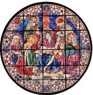 Andrea del Castagno (disegno) - Deposizione - Santa Maria del Fiore - Firenze