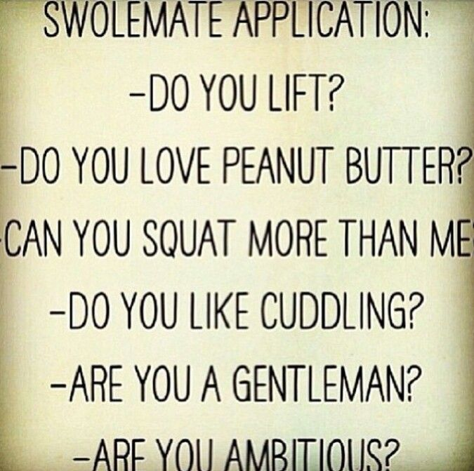 swolemate dating site Weights n' dates fitness 860 likes meet fitness singles in your area we help you find your swolemate wwwweightsndatescom.