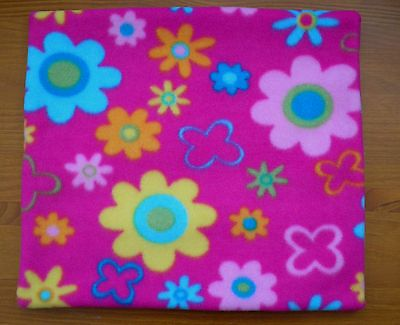 Large Pink Flowers Car BOOSTER Seat POTTY TRAINING Waterproof Piddle Pad Tumble