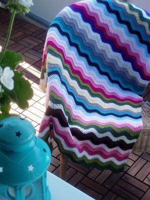 MyWay: Crochet Blanket / Háčkovaná deka: