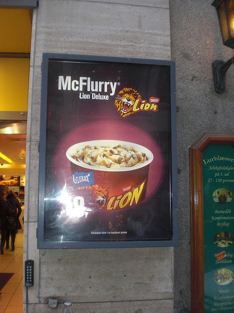 McDonalds McFlurry Deluxe Lion by Like_the_Grand_Canyon, via Flickr