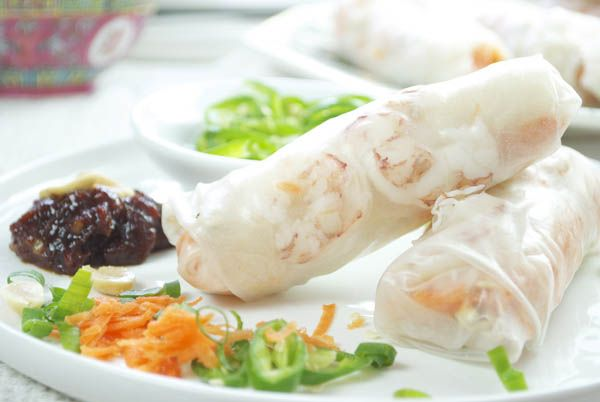 rollitos imperiales, cocina vietnamita: Recipe, Comidas Oriental, Recipes, Cocina Oriental, Salt Recipes