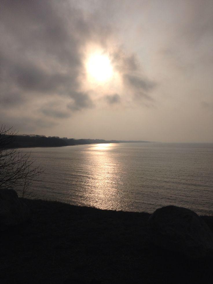 Morgenstund på sydkysten