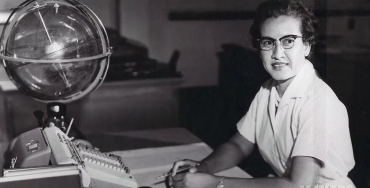 Katherine Johnson at NASA Langley Research Center NASA research mathematician Katherine Johnson is photographed at her desk at Langley Research Center. Born on Aug. 26 1918 in White Sulphur Springs WV Johnson worked at Langley from 1953 until her retirement in 1986 making critical technical contributions which included calculating the trajectory of Alan Shepard's historic 1961 flight. August 26 2016