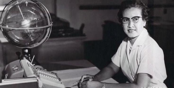 Katherine Johnson at NASA Langley Research Center #NASA Image of the day #photograhpy #photooftheday