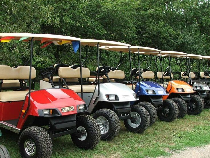 Ezgo and Club Golf Carts for sale!