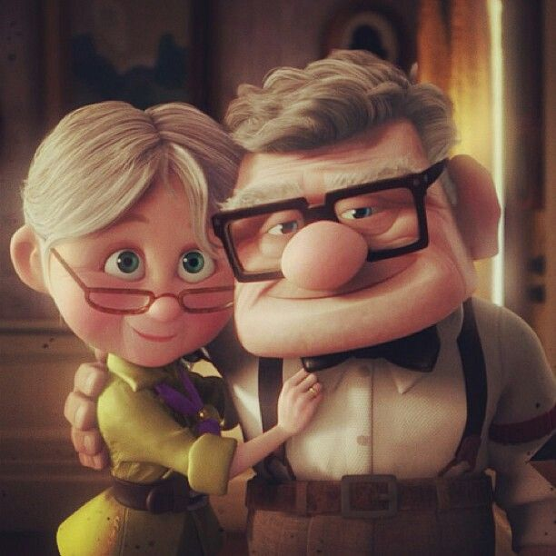 up ellie and carl relationship with god