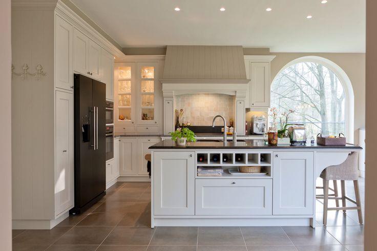 Pastoriestijl keuken wit