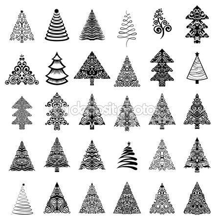 Karácsony a karácsonyfát — Stock Vektor © Firin #60601969